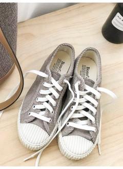 1817-1001A- 好著過 cons - 燈芯絨 X 厚底波鞋 (韓國)