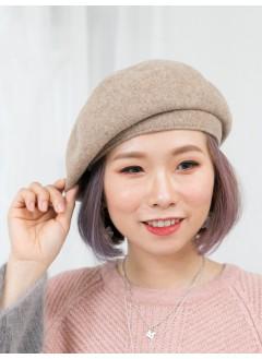 1819-1042A- 推介款 - 絨絨料 X 貝蕾帽 (韓國)0