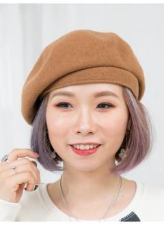 1819-1042 -推介款-絨絨料 X 貝蕾帽 (韓國)0