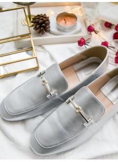 1817-1046- classic style - 小金扣 X 真皮 , 紳士鞋 (韓國)