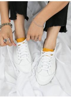 1817-1042 - macy's style -拼色 X 真皮波鞋 (韓國)