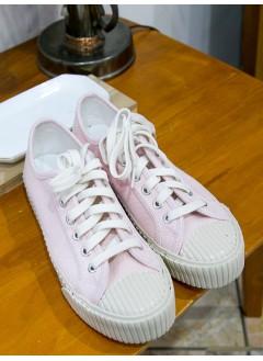 1817-1014- Macy's style -布料 X 厚底波鞋 (韓國)