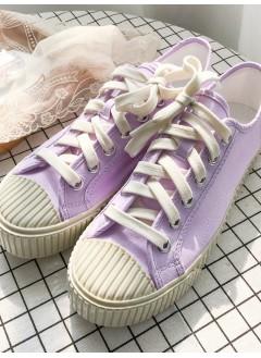 1917-1015 - classic . style -布料 X 厚底波鞋 (韓國)