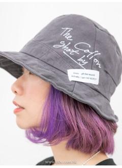 1919-1006 型格・漁夫帽 - 英文字PRINT X 漁夫帽 (韓國)-