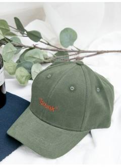 1919-1025 -- 刺繡・cap帽 -- ' BREAK ' 英文字刺繡 , CAP帽 (韓國)0