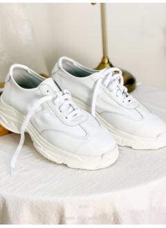 2017-1006- 韓國品牌・soyou - 真皮 X 厚底 , 綁帶波鞋 (韓國)