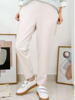 2015-1020A- 韓劇・效應 - 腳位後幅橡根 X 兩側袋 , 後腰橡根 X 滑滑扯布料 , 直腳褲 (韓國)-
