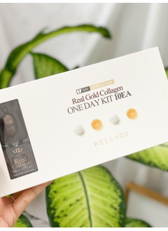 2023-1003-滿滿的骨膠原-wellage real gold collagen one day kit 10ea -( 韓國)-