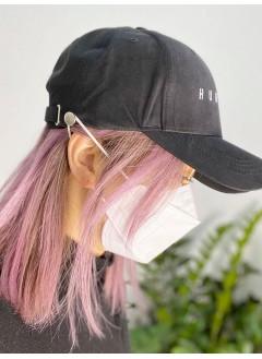 2019-1009 (瑕疵品 - #9 PINK ) -多色 防耳背痛口罩帽 - 韓國