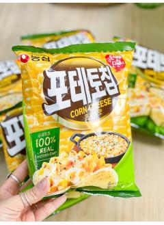 2031-1063-- 芝士控 -- 粟米芝士薯片 (韓國)-