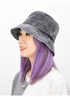 2019-1020-靚色- 洗水牛仔料 , 漁夫帽 (韓國)0