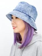 2019-1020A - 靚・色 -洗水牛仔料 , 漁夫帽 (韓國)0