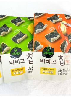 2131-1011 炸紫菜脆片 / (糙米,薯仔,甜粟米)40g X 3 set