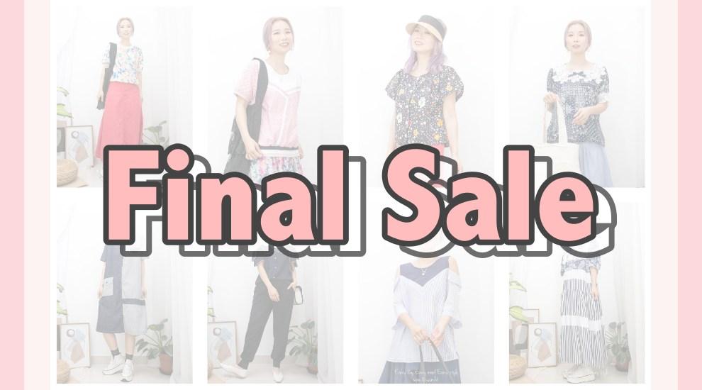 Final Sale/清貨